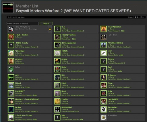 Call of Duty: Modern Warfare 2 boycott on Steam