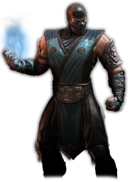 Sub Zero from Mortal Kombat 2011