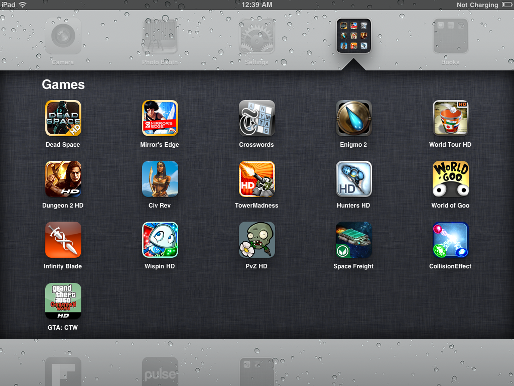 best i pad games