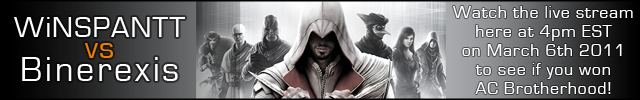 assassins-creed-brotherhood-winspantt-vs-binerexis-promo