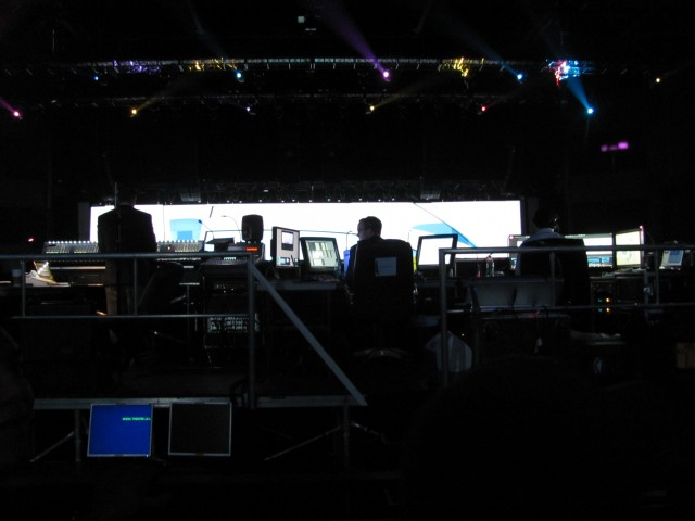 Nintendo E3 2011 Wii U reveal seating Nokia Theater