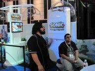 Sonic Generations SEGA E3 2011 booth
