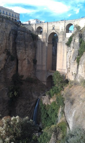 Puente Nueve bridge in Ronda, Spain
