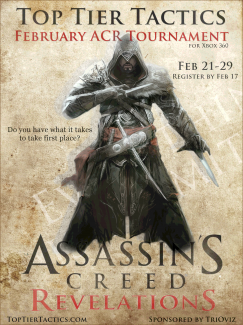 Assassins Creed Revelations Tournament Ezio Top Tier Tactics