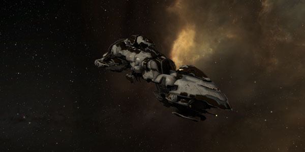 EVE Online exploration legion cruiser